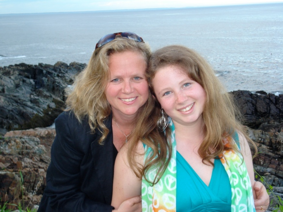 Emma and I on her 16th birthday.