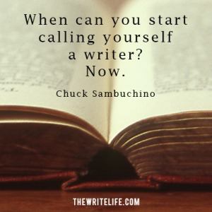 call-yourself-a-writer-Chuck-TWL